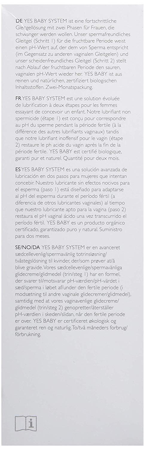 Yes Baby VM Fertility Friendly-Lube 50 ml