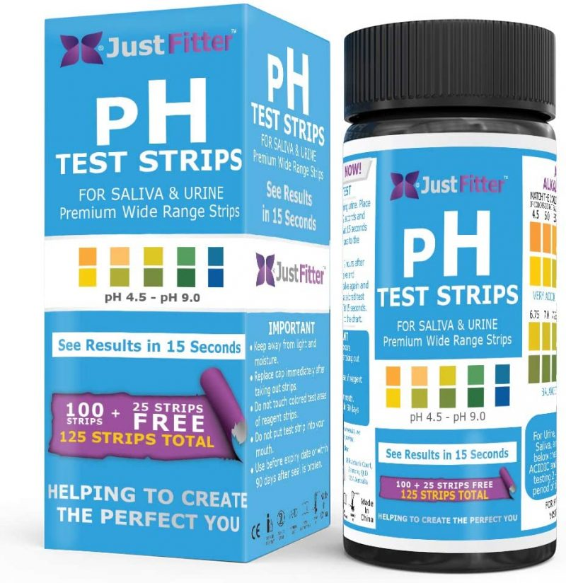 Strisce reattive pH